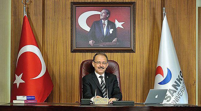 SANKO Üniversitesi Rektörü Prof. Dr. Dağlı'nın Cumhuriyet Bayramı Mesajı