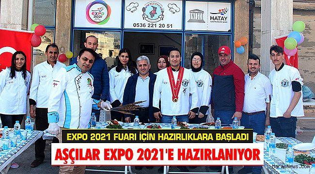 Aşçılar EXPO 2021'e hazırlanıyor
