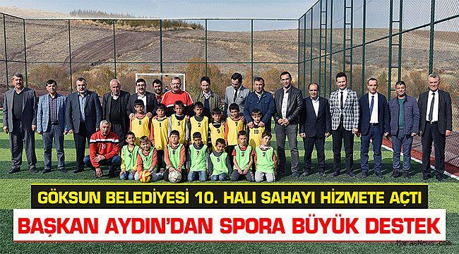Başkan Aydın'dan Spora Büyük Destek