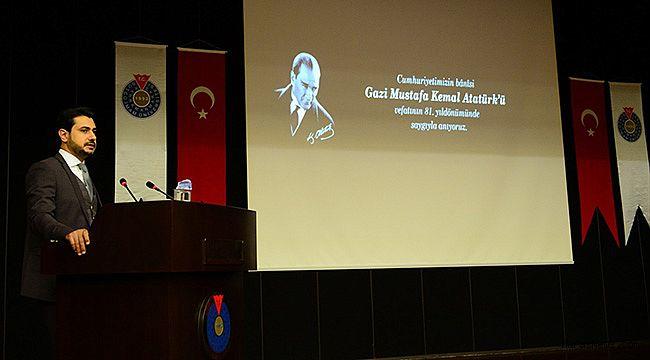 Büyük Önder Atatürk KSÜ'de anıldı
