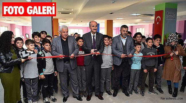 Dulkadiroğlu Gençlik Merkezinde 173 eser sergilendi