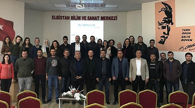 Elbistan'da İl Milli Eğitim Müdürlüğü ARGE birimi ERASMUS+ proje eğitimi verdi