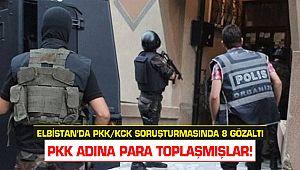 Elbistan'da PKK/KCK soruşturmasında 8 gözaltı
