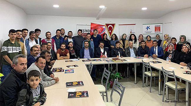 İstanbul'da okuyan Afşinli öğrenciler dernekte buluştu
