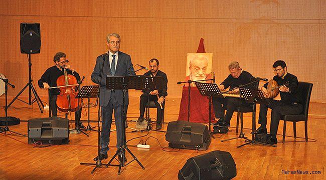 Kahramanmaraş'ta Necip Fazıl'ın eserlerinden oluşan konser verildi