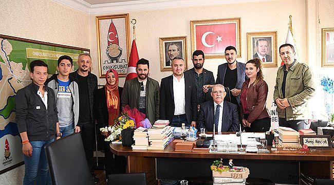 KMAGC'den Başkan Mahçiçek'e Ziyaret!