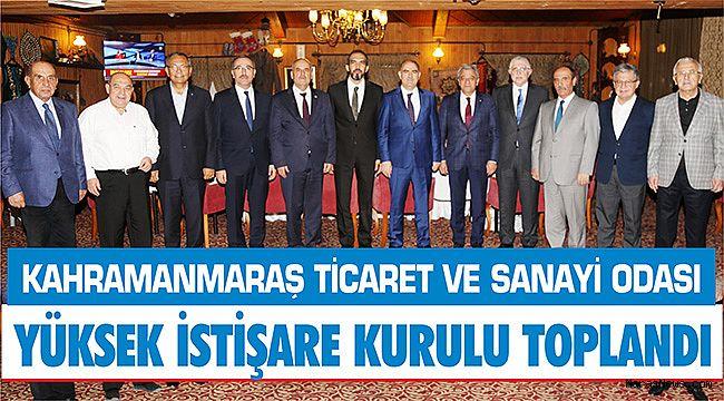 KMTSO Yüksek İstişare kurulu toplandı