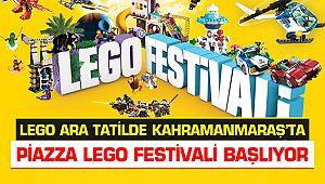 LEGO ara tatilde Kahramanmaraş'ta
