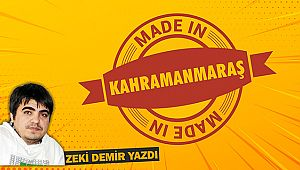 Made In Kahramanmaraş