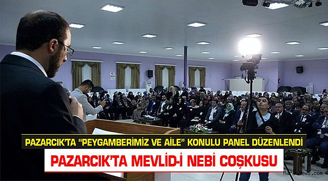 Pazarcık'ta Mevlid-İ Nebi Coşkusu