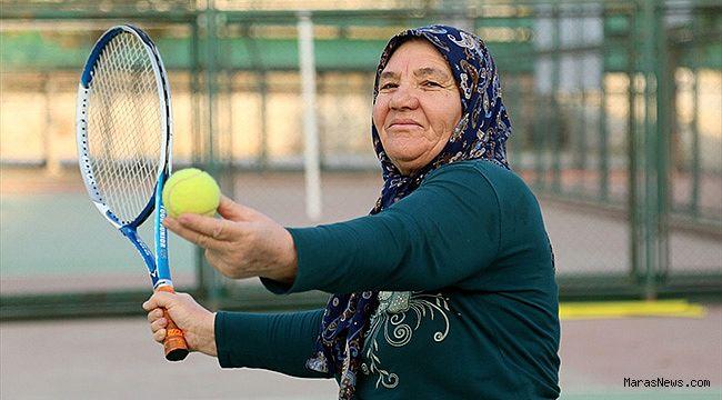 67'lik tenisçiye Hülya Avşar'dan maç daveti