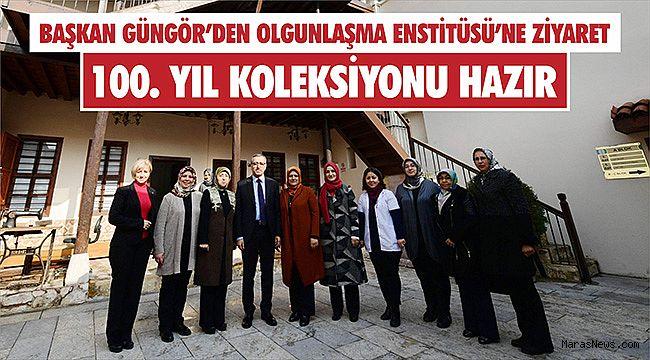 Başkan Güngör'den olgunlaşma enstitüsü'ne ziyaret
