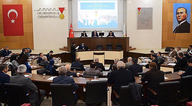 Büyükşehir Meclisi 30 Aralık'ta toplandı