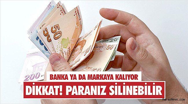 Dikkat! Paranız silinebilir