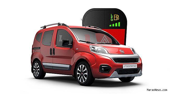 Fiat Fiorino'ya LPG seçeneği