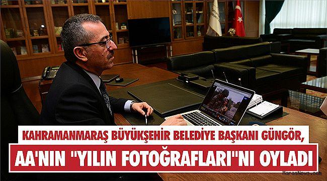 Kahramanmaraş Büyükşehir Belediye Başkanı Güngör, AA'nın
