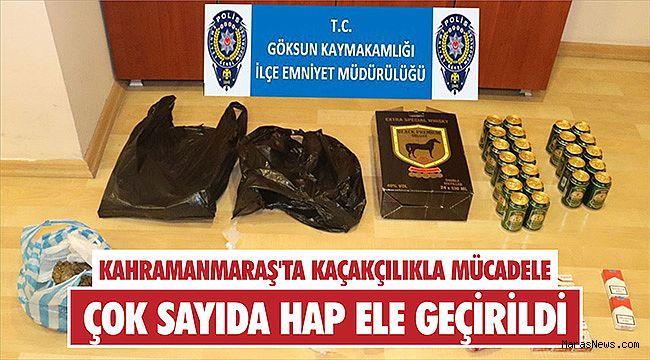 Kahramanmaraş'ta kaçakçılıkla mücadele