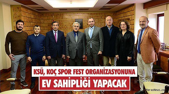 KSÜ, Koç Spor Fest organizasyonuna ev sahipliği yapacak
