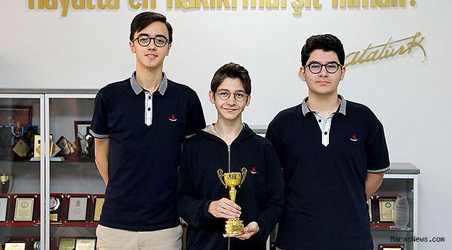 SANKO Okulları Nasa buluş şenliğinden türkiye üçüncülüğü ile döndü