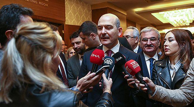 """Soylu: """"Türkiye büyük bir değişim içinde"""""""