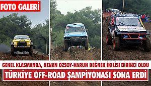Türkiye Off-Road Şampiyonası'nın finali sona erdi