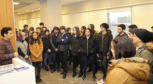 Vehbi Dinçerler Fen Lisesi öğrencilerinden SANKO Üniversitesi'ne ziyaret