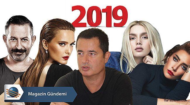 2019 yılı Magazin ve Sanat Dünyasında böyle geçti…