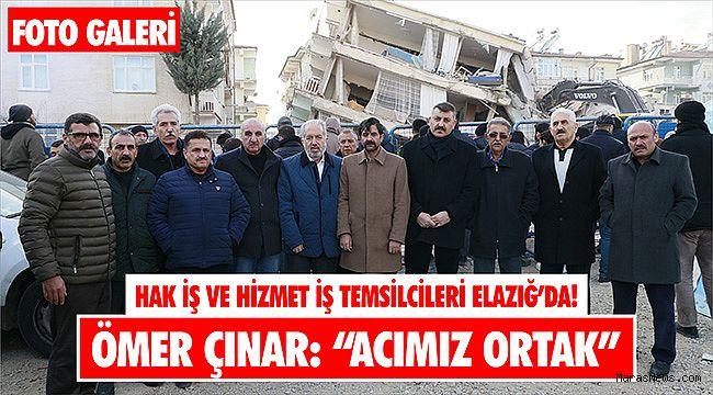 Hak İş ve Hizmet iş Temsilcileri Elazığ'da!