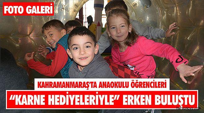 Kahramanmaraş'ta anaokulu öğrencileri