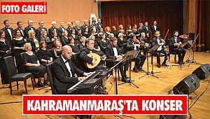 Kahramanmaraş'ta konser