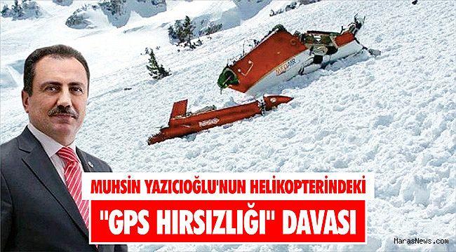 Muhsin Yazıcıoğlu'nun helikopterindeki
