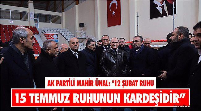 AK Partili Mahir Ünal: