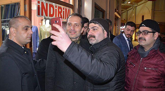 Erbakan Kahramanmaraş'ta kurtuluş programına katıldı