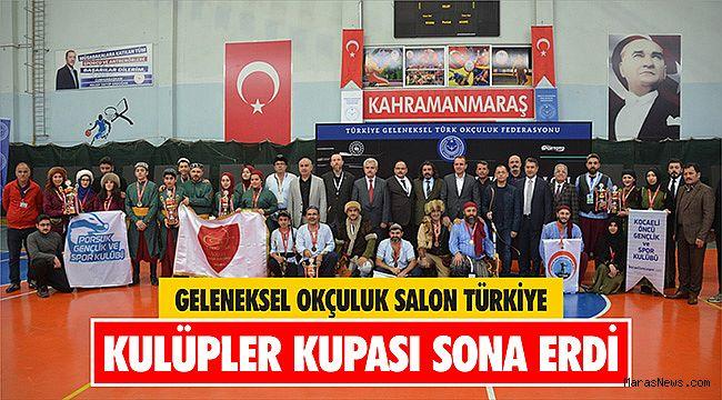 Geleneksel Okçuluk Salon Türkiye Kulüpler Kupası sona erdi