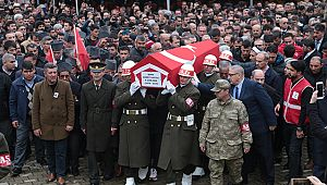 İdlib şehidi Uzman Onbaşı Ahmet Saygılı Kahramanmaraş'ta son yolculuğuna uğurlandı