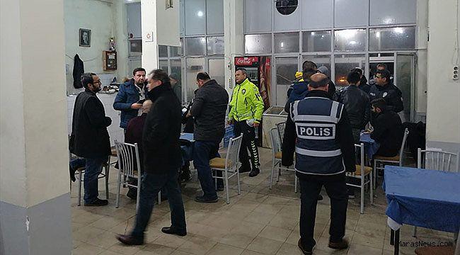 Kahramanmaraş'ta çeşitli suçlardan aranan 24 kişi yakalandı