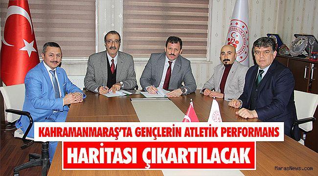 Kahramanmaraş'ta gençlerin atletik performans haritası çıkartılacak