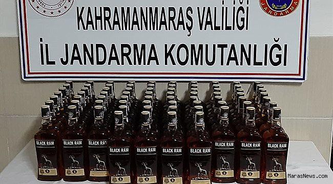 Kahramanmaraş'ta kaçak içki ele geçirildi