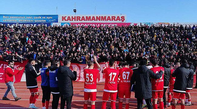 Kahramanmaraşspor'dan muhteşem galibiyet!