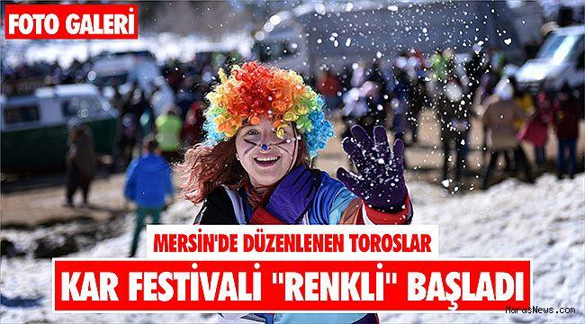 Mersin'de düzenlenen Toroslar Kar Festivali