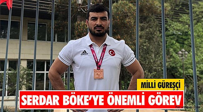 Milli güreşçi Serdar Böke'ye önemli görev