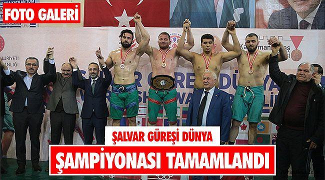 Şalvar Güreşi Dünya Şampiyonası tamamlandı