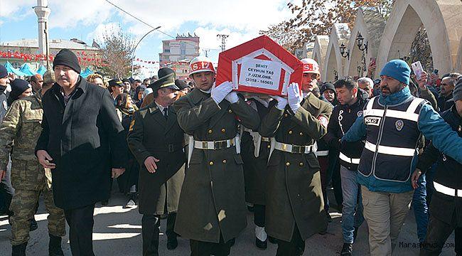 Şehit Uzman Onbaşı Ceyhun Taş son yolculuğuna uğurlandı