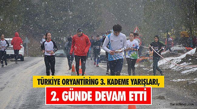 Türkiye Oryantiring 3. Kademe Yarışları, 2. günde devam etti