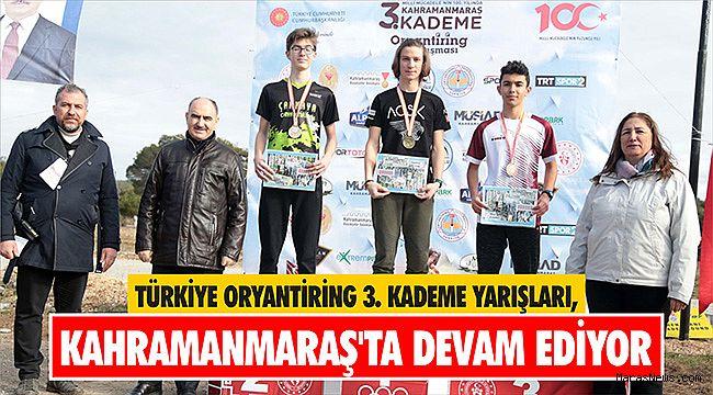 Türkiye Oryantiring 3. Kademe Yarışları, Kahramanmaraş'ta devam ediyor