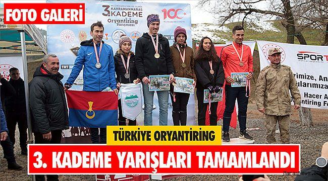 Türkiye Oryantiring 3. Kademe Yarışları tamamlandı
