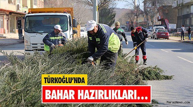 Türkoğlu'nda Bahar Hazırlıkları…
