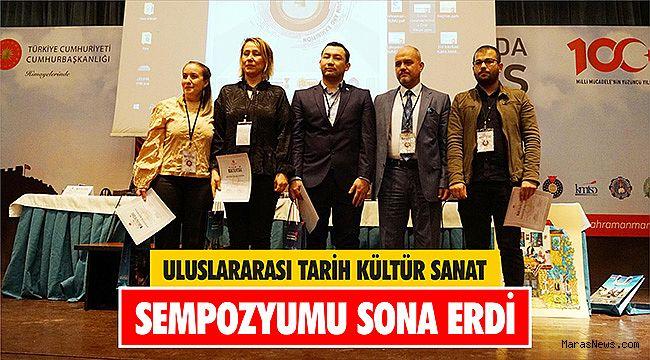 Uluslararası Tarih Kültür Sanat Sempozyumu sona erdi