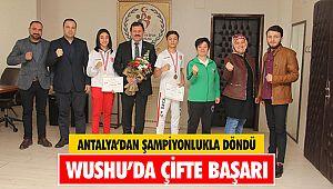 Wushu'da çifte başarı