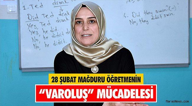 28 Şubat mağduru öğretmenin
